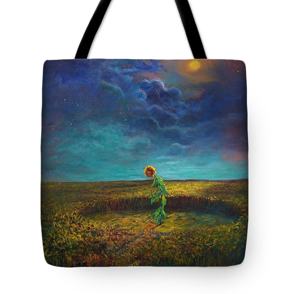 The Clock Of God Tote Bag by Randy Burns