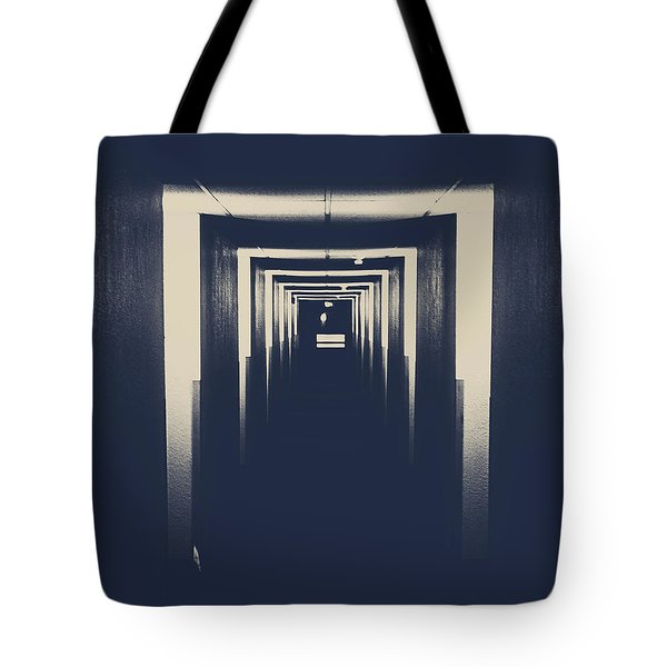The Closed Doors Tote Bag by Jerry Cordeiro