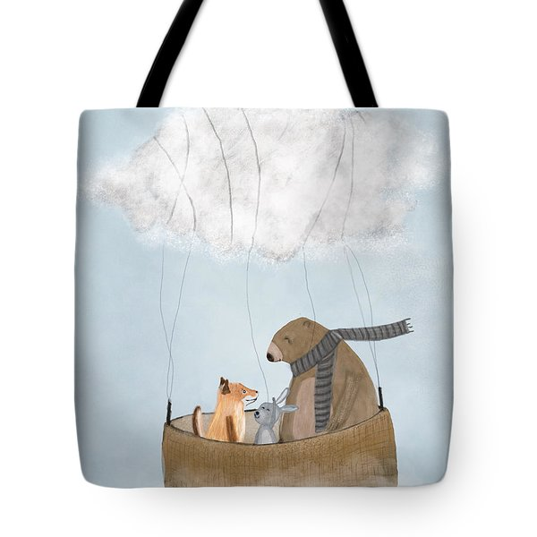 The Cloud Balloon Tote Bag