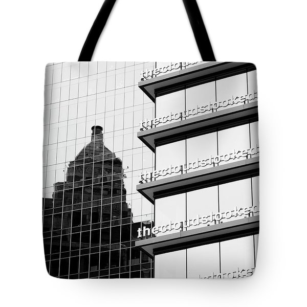 Tote Bag featuring the photograph The Clouds by Chris Dutton