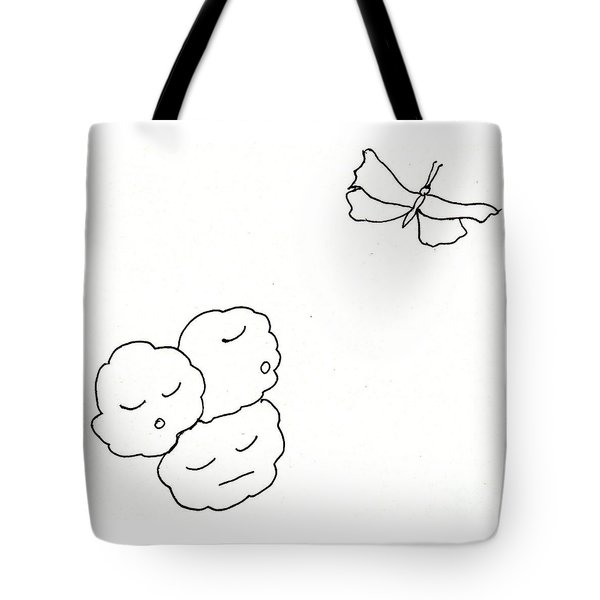 The Clouds Looked Down Their Noses Tote Bag