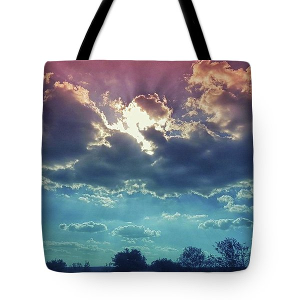 The Clouds, The Only Birds That Never Tote Bag