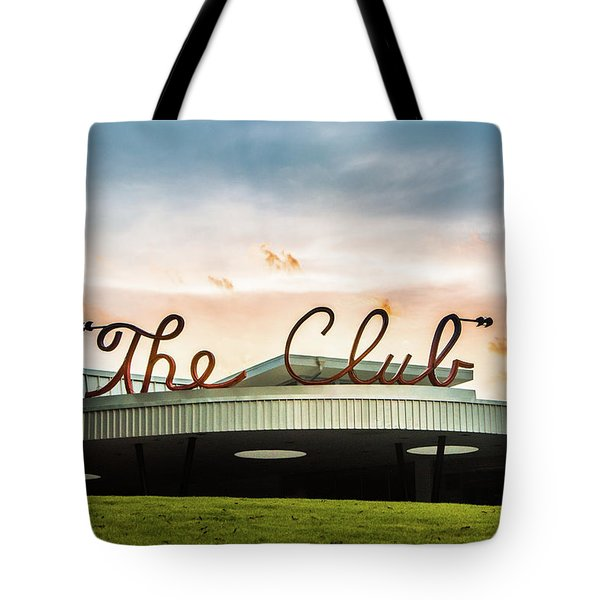 Tote Bag featuring the photograph The Club Birmingham by Parker Cunningham