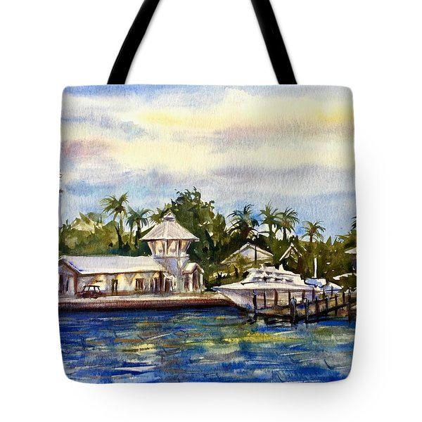 The Coast Of Nassau Tote Bag