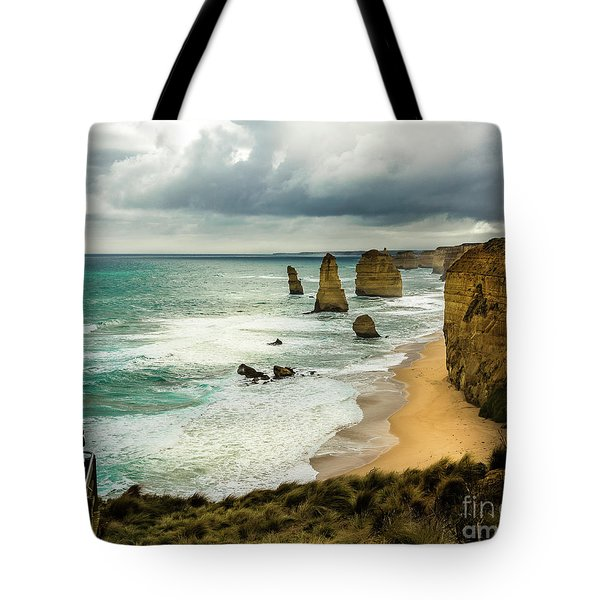 Tote Bag featuring the photograph The Coast by Perry Webster