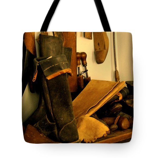 The Cobbler Tote Bag
