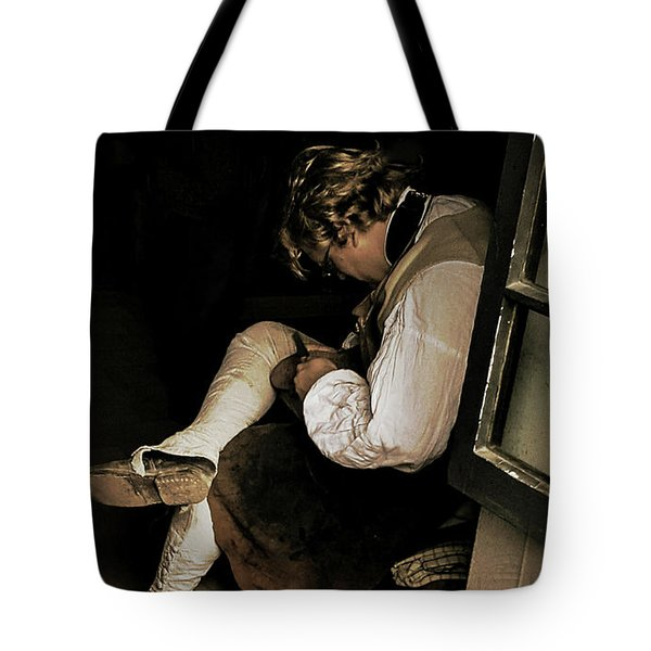 The Cobblers Window Tote Bag
