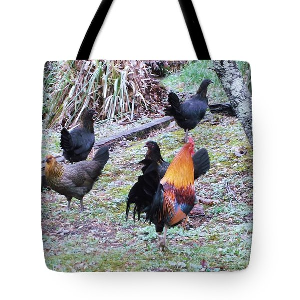 The Cock-walk Tote Bag