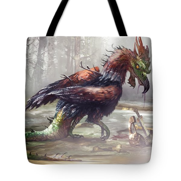 The Cockatrice Tote Bag
