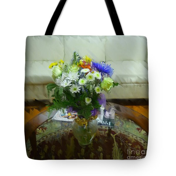 The Coffee Table Tote Bag by Jeff Breiman