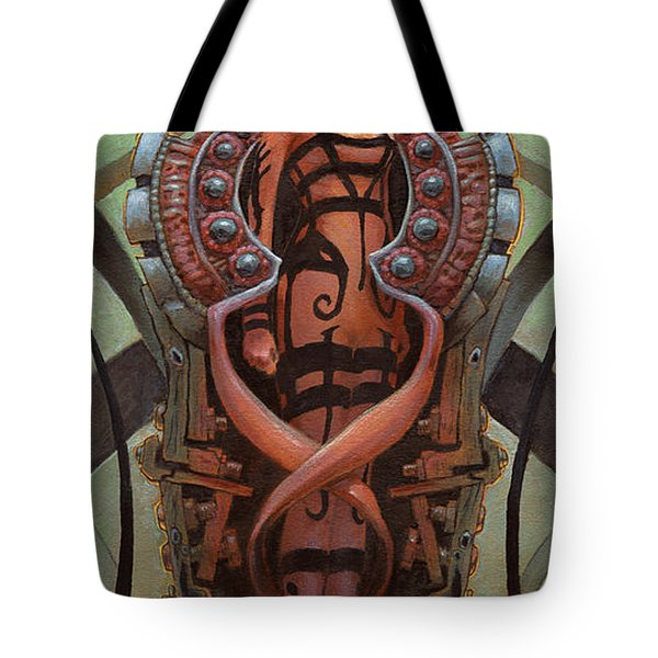The Coffin Bloom  Tote Bag