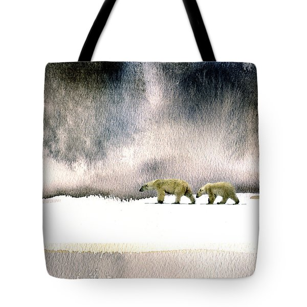 The Cold Walk Tote Bag by Paul Sachtleben