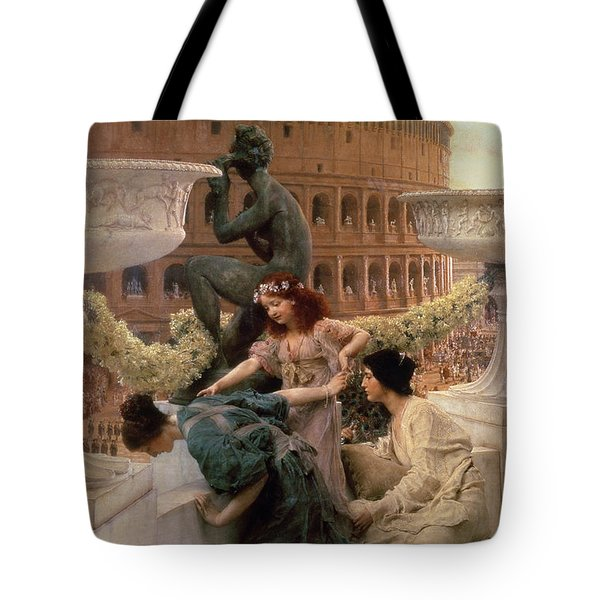 The Coliseum Tote Bag by Sir Lawrence Alma-Tadema