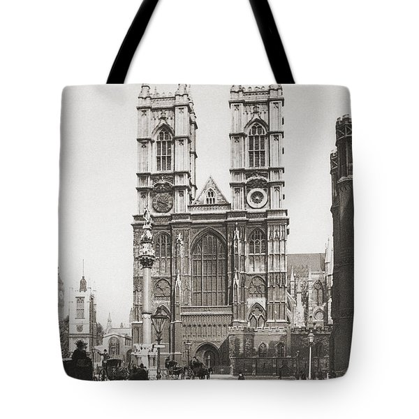 The Collegiate Church Of St Peter At Tote Bag