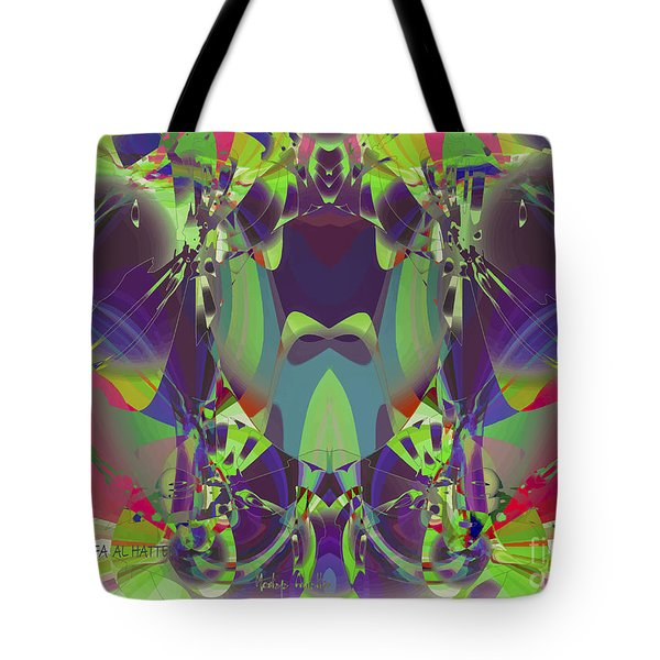 The Color Mask Tote Bag