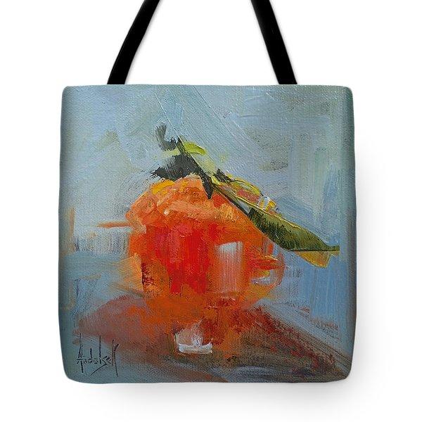 The Color Orange Tote Bag by Barbara Andolsek