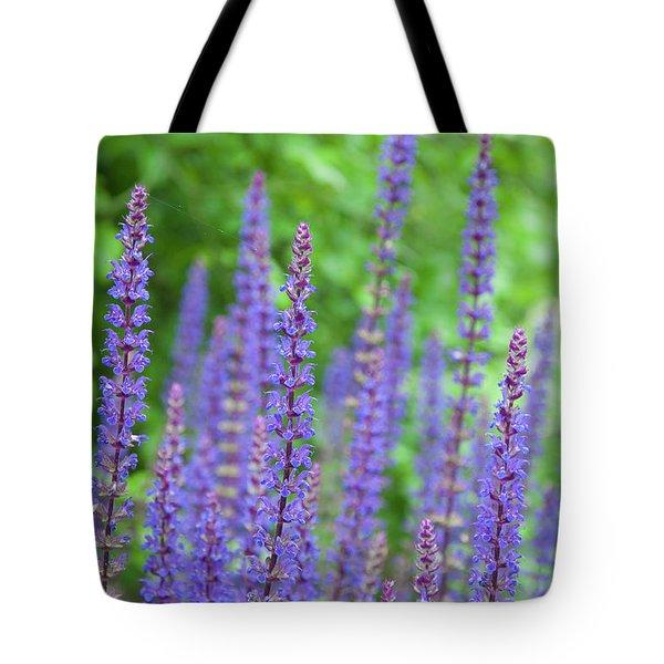 The Color Purple - Longwood Gardens Tote Bag