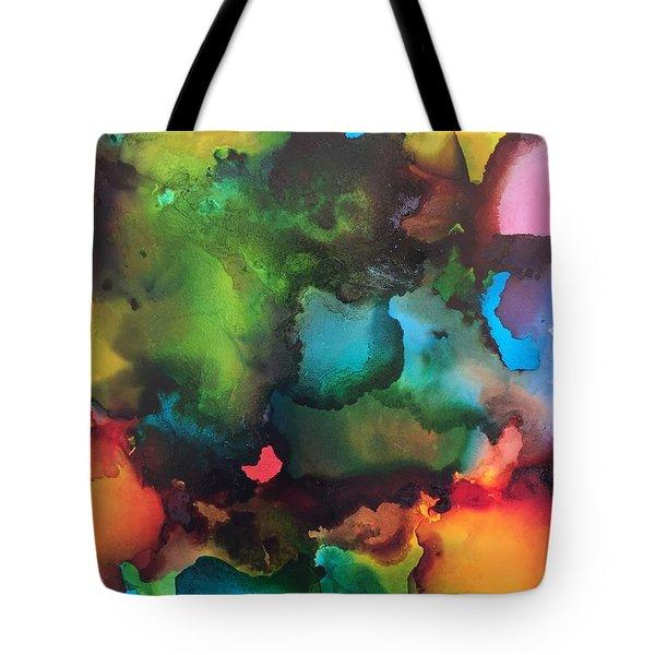The Color Wheel Tote Bag