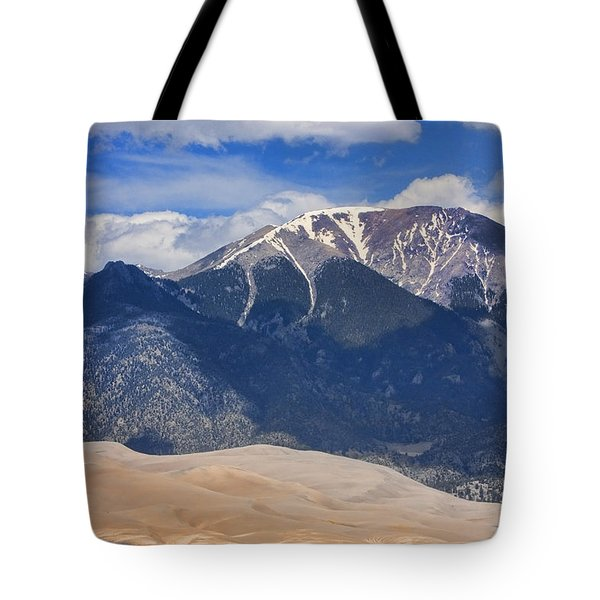 The Colorado Great Sand Dunes  125 Tote Bag by James BO  Insogna
