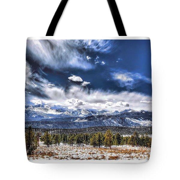 The Colorado Rockies Tote Bag