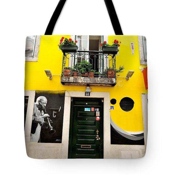 The Colorful Bar Tote Bag