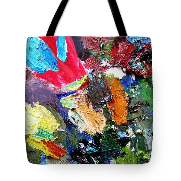 The Colorful Palette Tote Bag by Elizabeth Robinette Tyndall