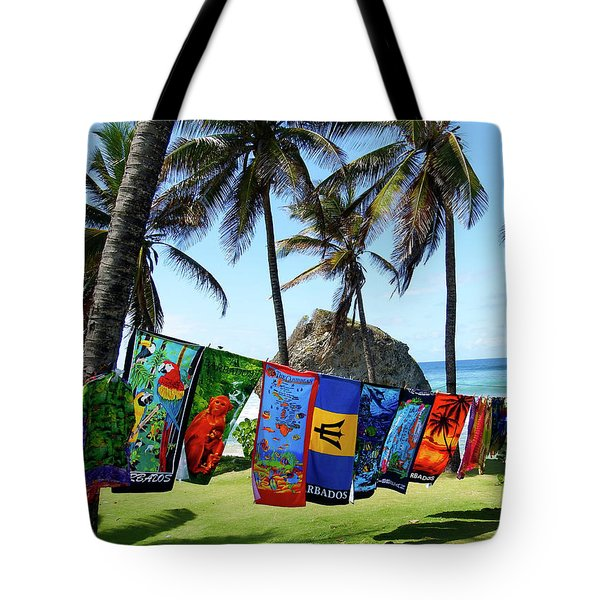 Tote Bag featuring the photograph The Colors Of Barbados by Kurt Van Wagner