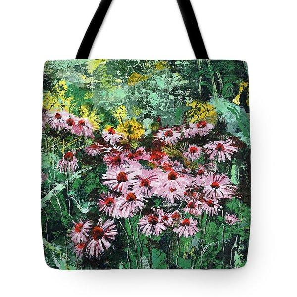 Coneflowers  Garden Tote Bag