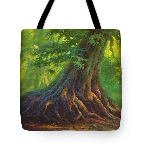 The Colors Of Light Tote Bag