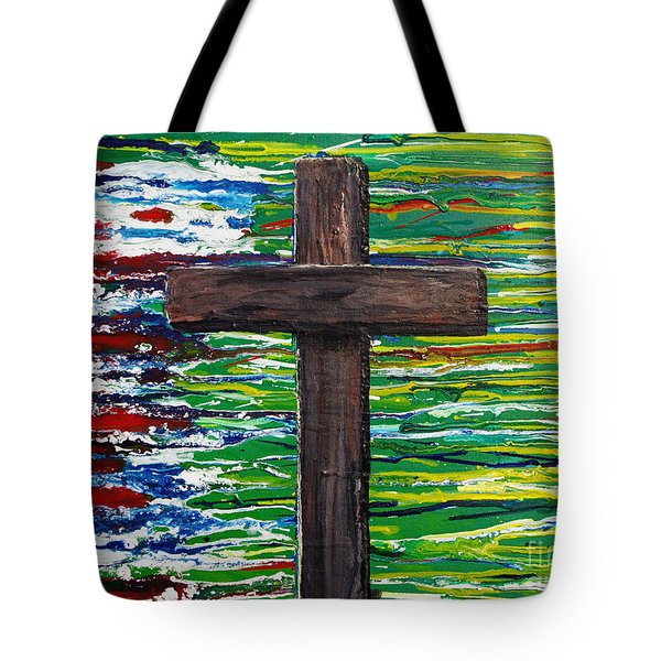 The Colors Of My Father's Heart Tote Bag