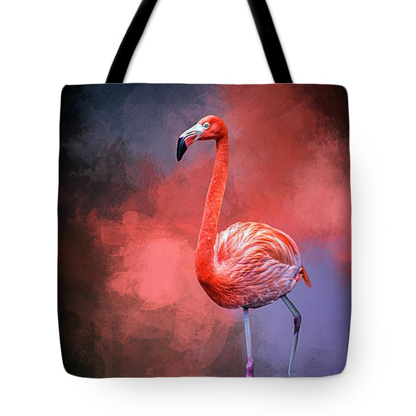 The Colors Of My World Tote Bag by Cyndy Doty