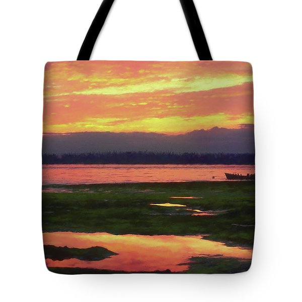 The Colors Of Ship Creek Tote Bag