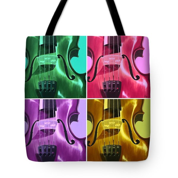 The Colors Of Sound Tote Bag