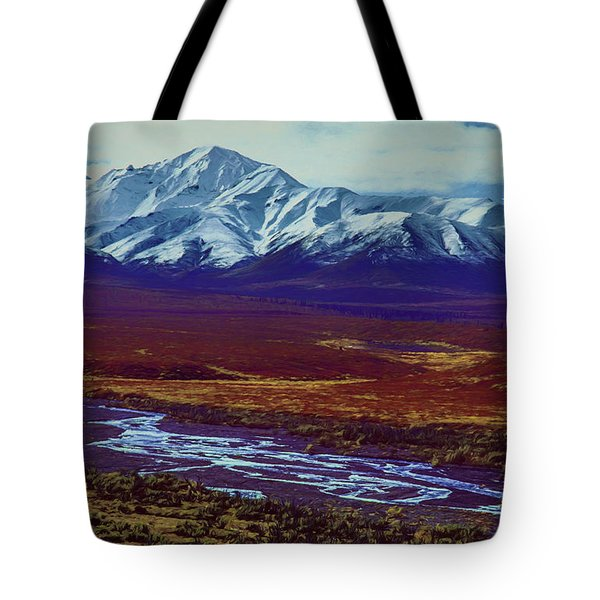 The Colors Of Toklat River Tote Bag