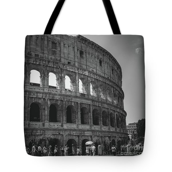The Colosseum, Rome Italy Tote Bag