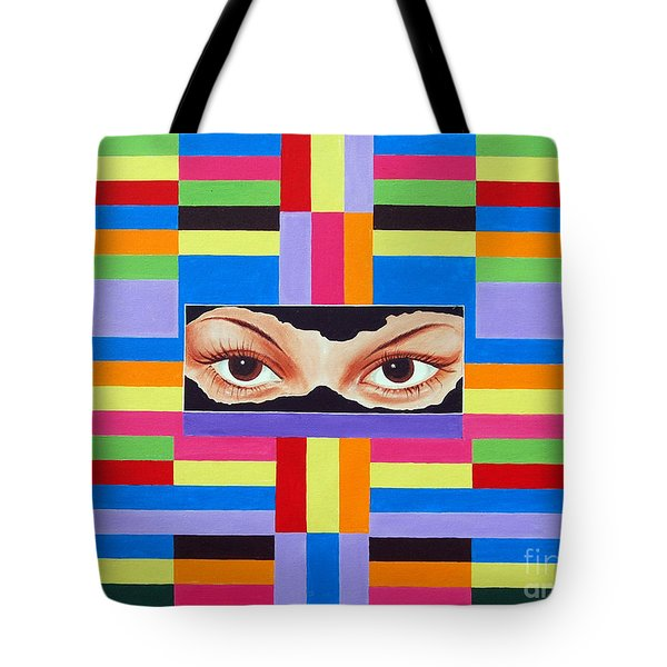 The Colour Of Life Tote Bag by Ragunath Venkatraman