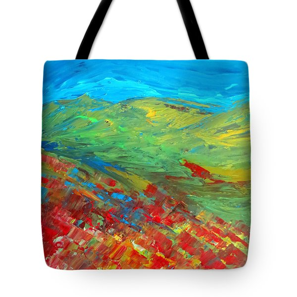 The Colour Of Summer Tote Bag by Elizabeth Kendall