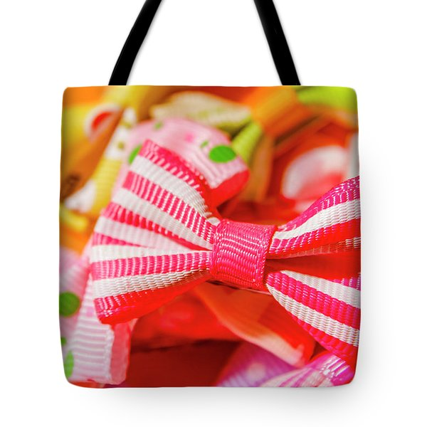 The Colourful Accessory Store Tote Bag