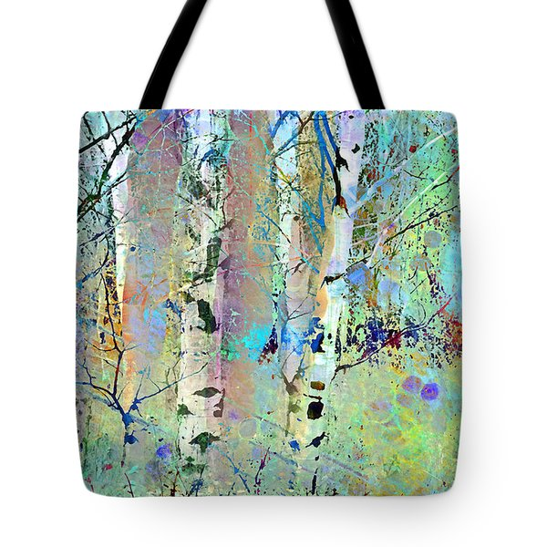 The Colouring Book In The Forest Tote Bag