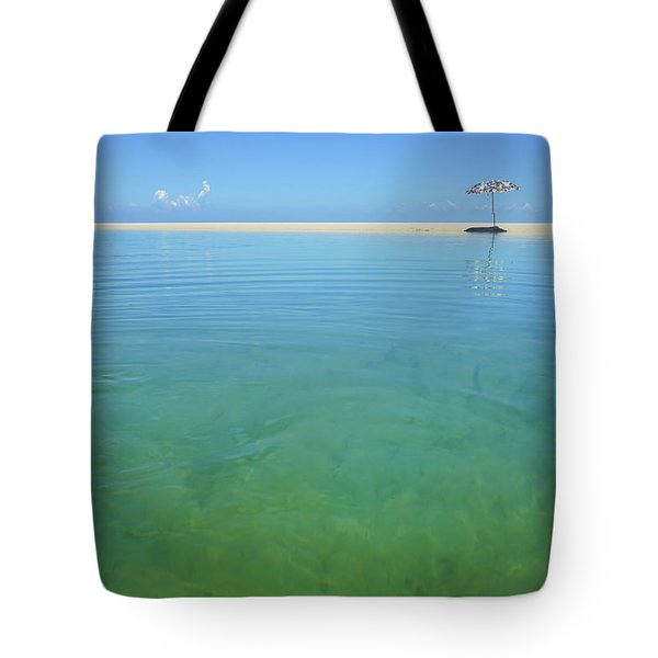 The Colours Of Paradise On A Summer Day Tote Bag
