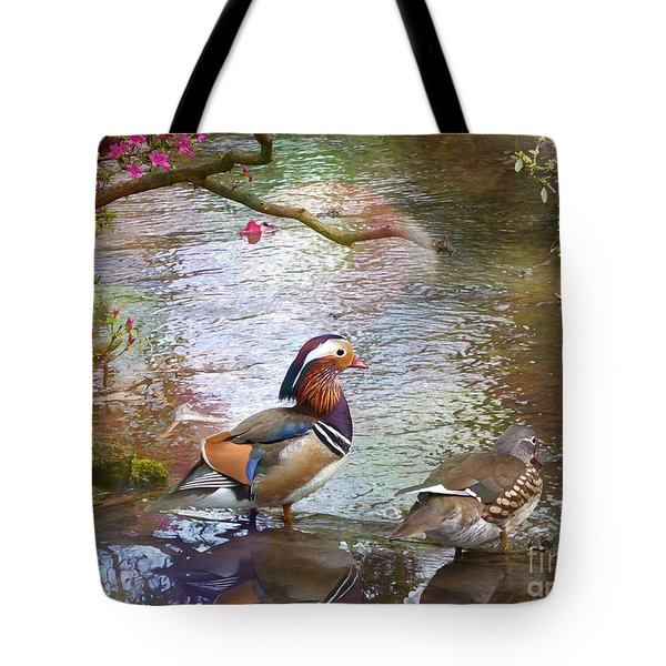 Tote Bag featuring the photograph The Colours Of Spring by LemonArt Photography