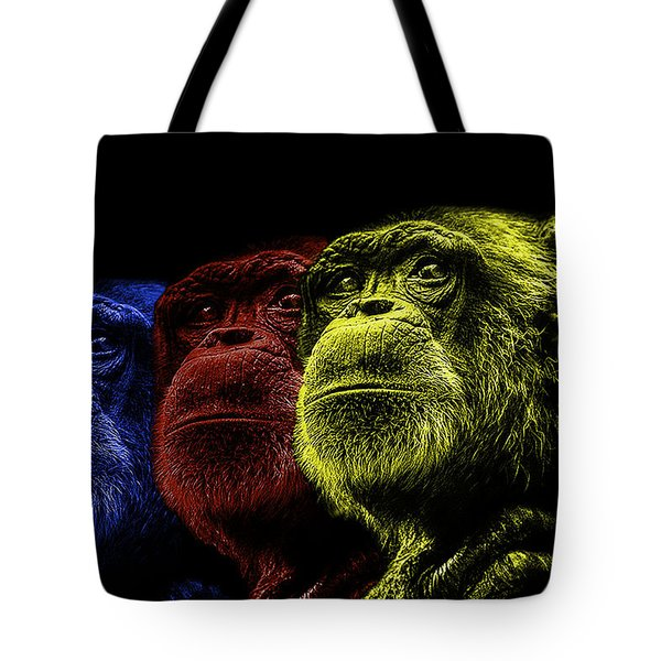 The Colours Of Trepidation  Tote Bag