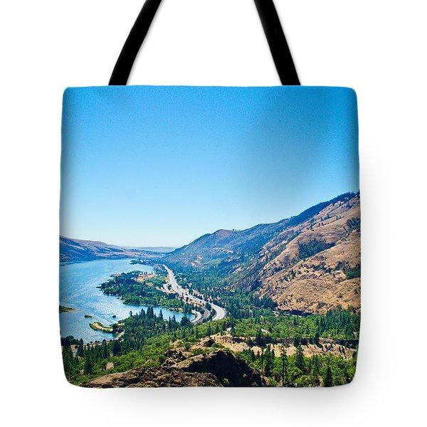 The Columbia River Gorge Tote Bag