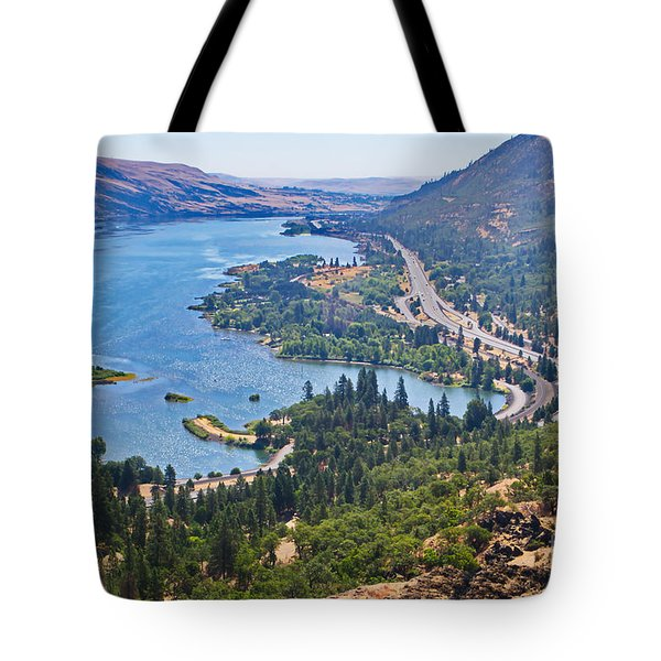 The Columbia River In The Gorge Tote Bag