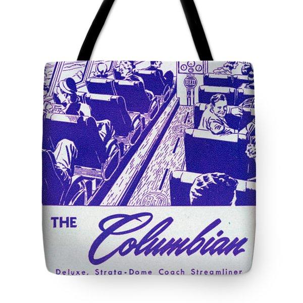 The Columbian Tote Bag