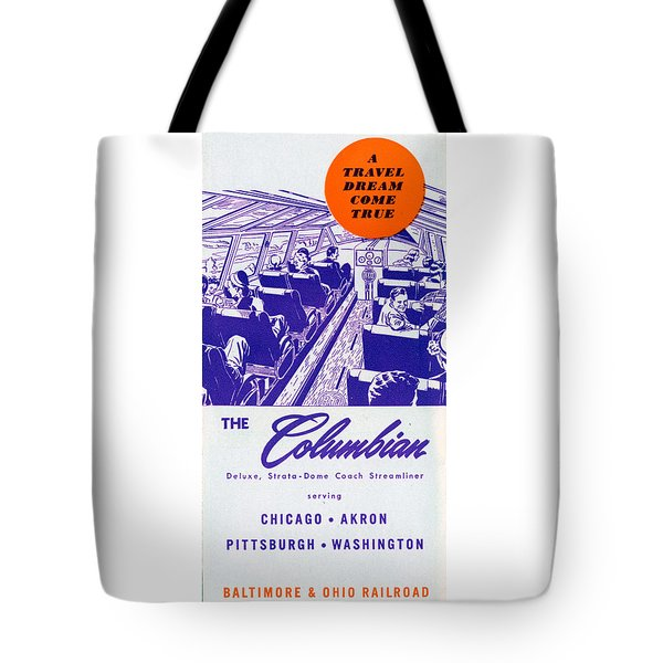 The Columbian Tote Bag