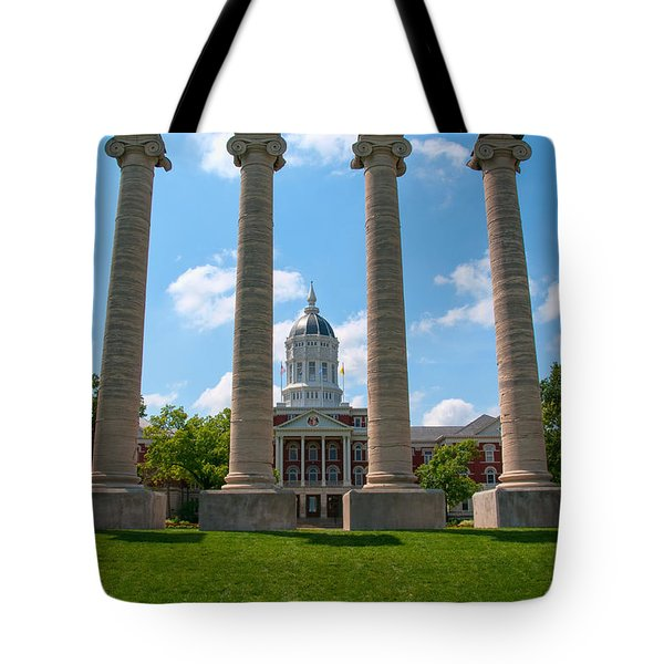 The Columns Tote Bag