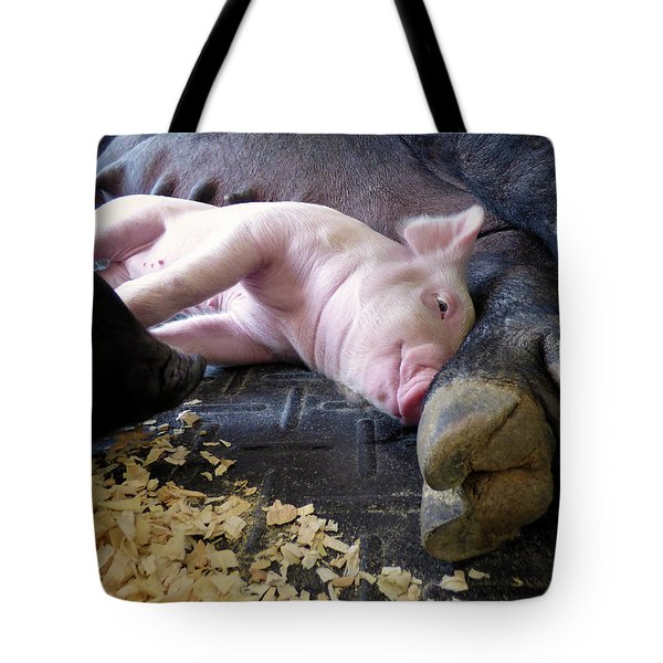 Tote Bag featuring the photograph The Comfort Of Mom by Robert Geary