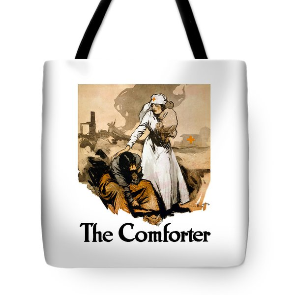 The Comforter - World War One Nurse Tote Bag