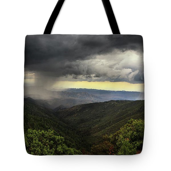 Tote Bag featuring the photograph The Coming Storm by Rick Furmanek